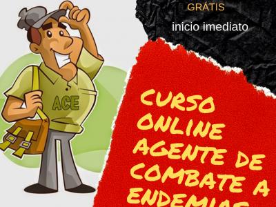 Curso Online Agente de Combate a Endemias