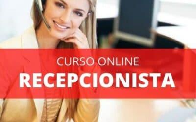 Curso Online Recepcionista